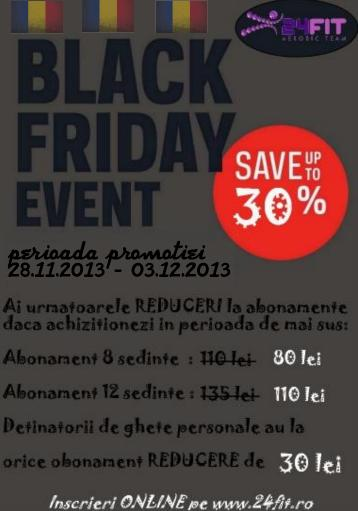 black friday romaneste