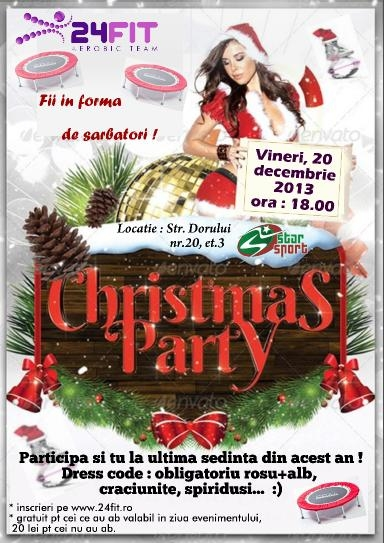 flyer christmas party