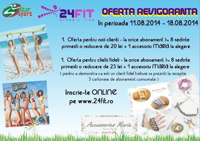 oferta 24fit vara 2014